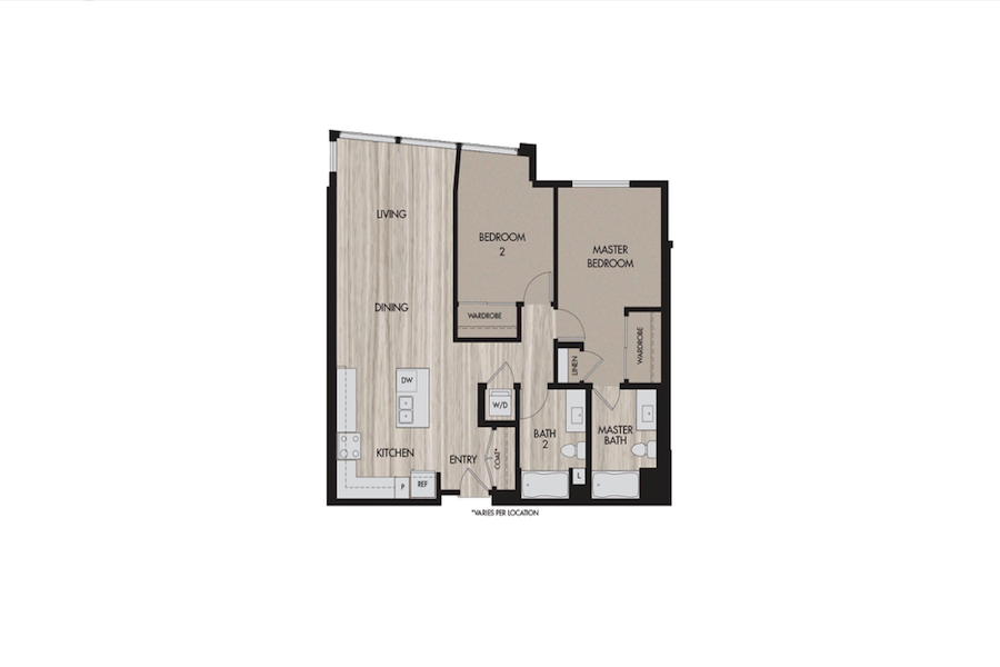 News from The Pierce - Featured floor plan at The Pierce